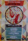 Cartel del Festival Folclórico San Antonio