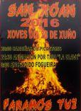 Cartel de las Fiestas de San Juan.(Paramos)