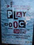 Cartel del festival de documentales