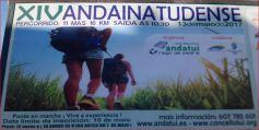 Cartel de la caminata tudense