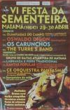 Cartel de la Fiesta de la Sementera de Vigo.