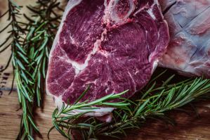 Foto de carne.