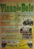 cartel fiestas Viana do Bolo