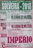 Cartel fiestas en Solveira, Viana do Bolo.