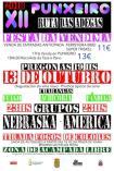 Cartel fiesta de la vendimia en Punxeiro -Viana do Bolo