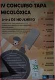 Concurso tapa micologica Trives