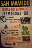 Fiestas de Santiago en San Mamede, Viana do Bolo.