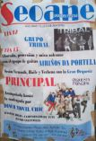 Cartel fiestas de Seoane de A Veiga.