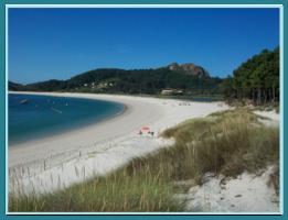 Playa de Rodas. Islas Cíes.