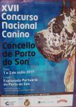 Cartel concurso nacional canino