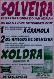 Cartel fiestas de Solveira en Viana do Bolo