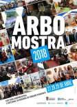 Cartel de la feria agroindustrial y artesanal de Arbo.