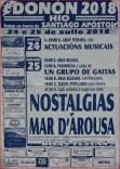 Fiestas de Santiago Apóstol en Donón. 24 y 25 Julio 2018.