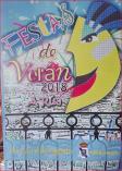 Cartel fiestas de A Rua.