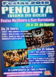cartel fiestas Penouta