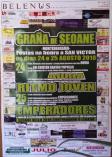 Cartel de fiestas de Graña de Seoane en Montederramo.