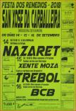 Cartel fiestas de Nogueira de Ramuin.