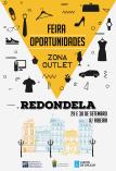Cartel de la feria anual de oportunidades de Redondela.