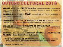 Otoño Cultural en Arbo.