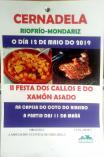 Fiesta de los callos y el jamón asado en Mondariz.