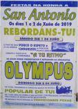 Fiestas de SAn Antonio en Rebordáns.