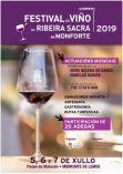 Festival del Vino de  la Ribera Sacra en Monforte.