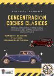 Concentración de coches clásicos en Arbo.