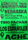 Cartel de las fiestas de San Lorenzo en Arnuide.
