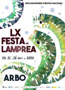 Fiesta de la Lamprea en Arbo,Pontevedra.
