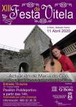 Cartel Fiesta de la Vitela en O Bolo Ourense.