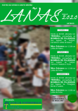 Cartel de las fiestas de Santa María en Lañas,Aarteixo.