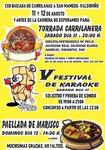 Bajada de carrilanas y festival de karaoke